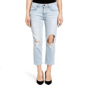 Good American Good Cuts Crop High Waisted Jeans 10